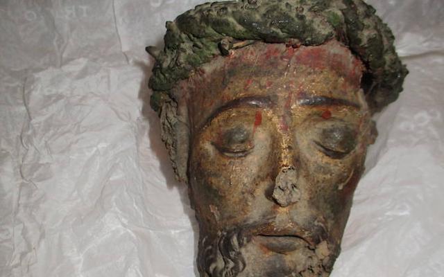 El Cristo decapitado de Almendral