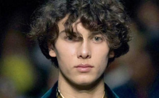 El príncipe danés Nicolás, modelo