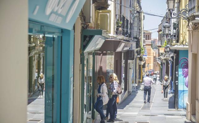Detenido cuando intentaba robar en un comercio del Casco Antiguo de Badajoz