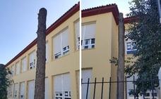 Denuncian la «tala en altura» de árboles de un colegio de Badajoz