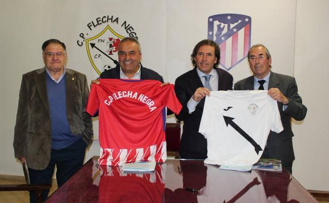 El Flecha se vincula al Atlético de Madrid