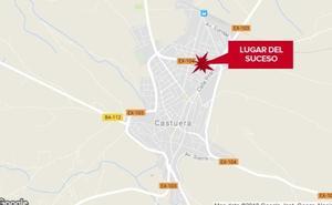 Una mujer de 47 años resulta herida al ser atropellada en Castuera