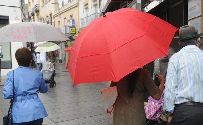 Las lluvias volverán a Extremadura la próxima semana