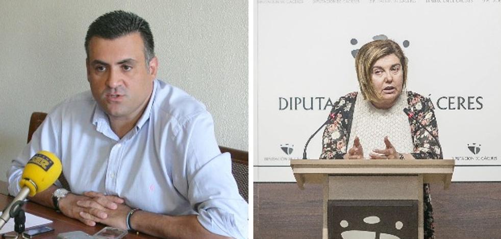 Cordero y el alcalde de Coria se enzarzan en una discusión