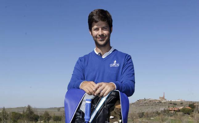 El golfista Jorge Campillo espera dar su gran golpe