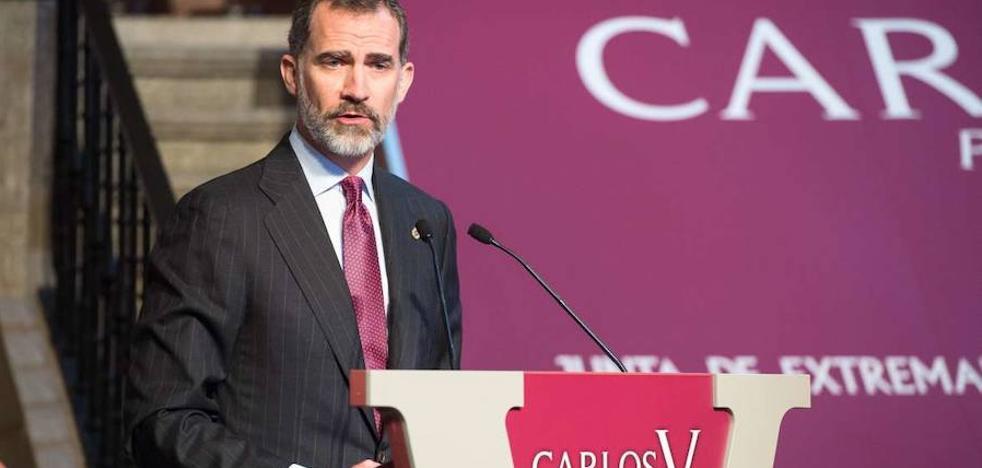 El Rey acepta la Presidencia de Honor de Fundación Academia Europea de Yuste