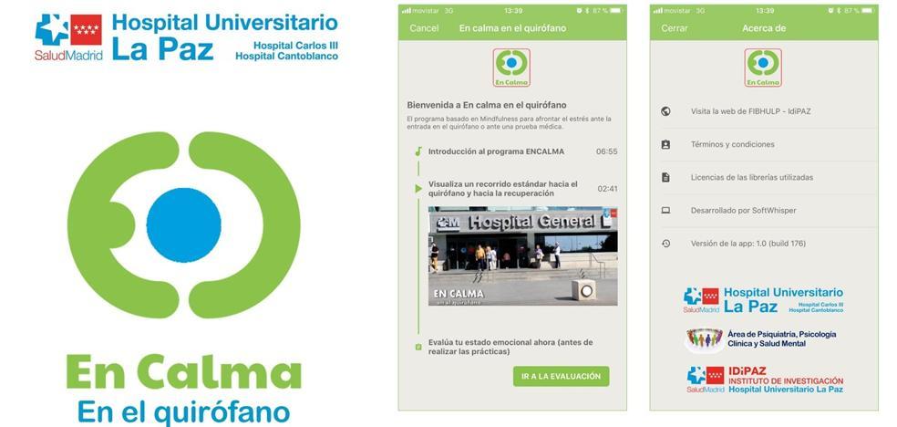 Una aplicación pionera en España para reducir el estrés de los pacientes antes de entrar en quirófano