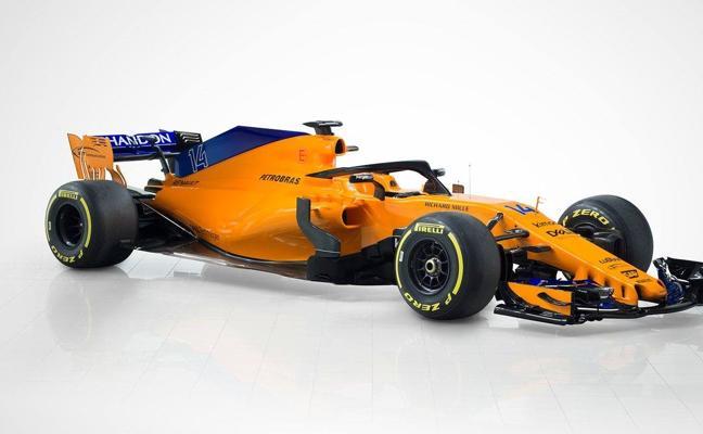 McLaren desvela el MCL33, el nuevo monoplaza naranja y azul de Fernando Alonso