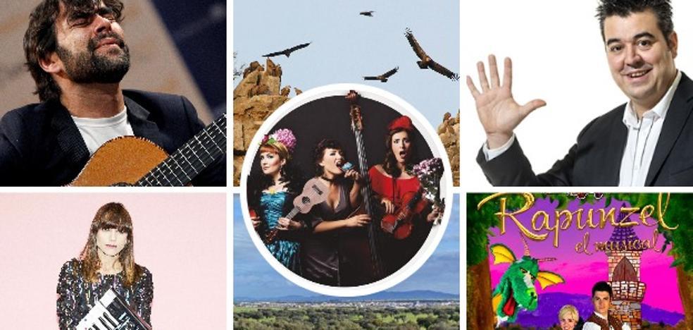 Un fin de semana para disfrutar de las aves, la magia y la música indie