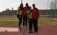 Alba Becerra, campeona de España sub-16 de martillo