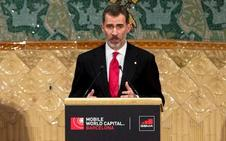 El Rey apuesta por Barcelona en plena crisis territorial y elude las críticas al secesionismo