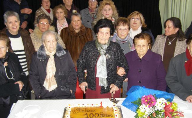 Una centenaria en plena forma