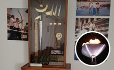 La familia de Reyes Abades dona a Castilblanco la flecha que encendió el pebetero de Barcelona'92