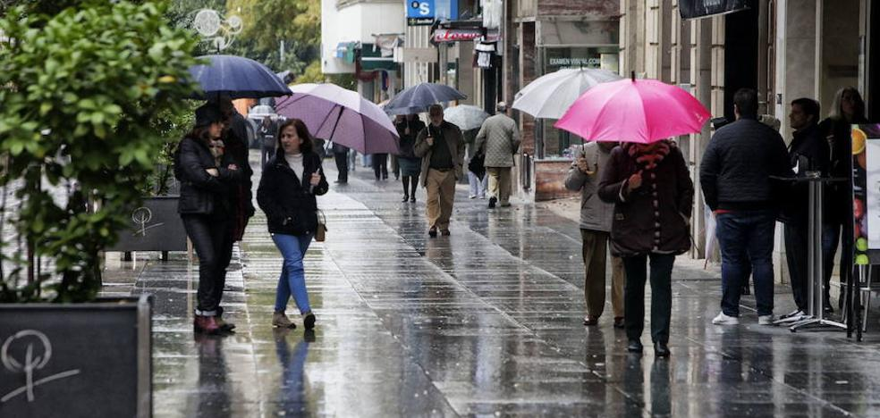 La lluvia llega a Extremadura y se quedará durante al menos una semana