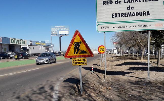 Las obras de la carretera de Guadalupe se reanudan tras modificarse el proyecto