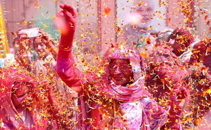 Celebración del Holi