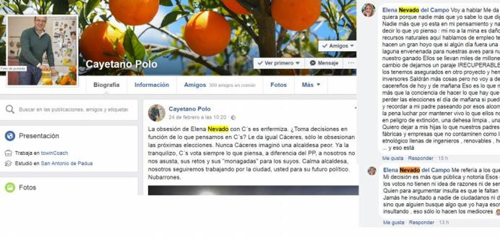 Nevado responde a Polo que tiene «otro proyecto» con 200 empleos