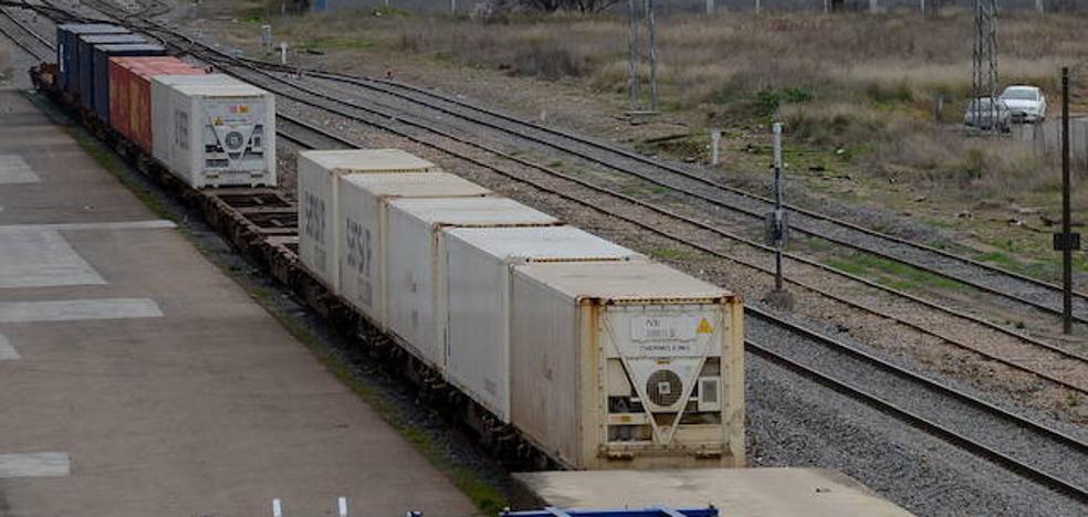 La plataforma logística de Badajoz tendrá conexión ferroviaria en dos años