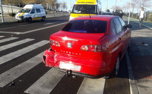 Atropellada cuando cruzaba en silla de ruedas en Badajoz