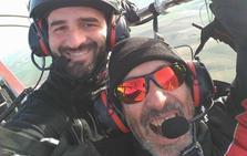 De Zafra a Cuenca en paramotor