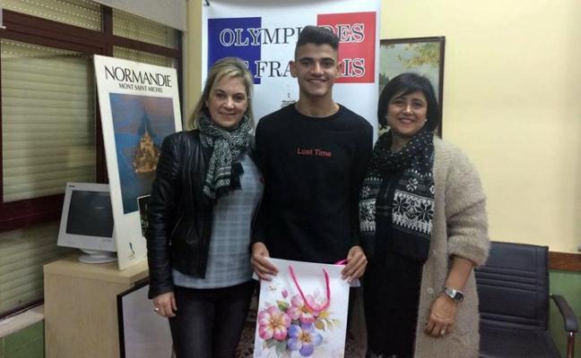 Un alumno de Villanueva, tercero en la Olimpiada de francés