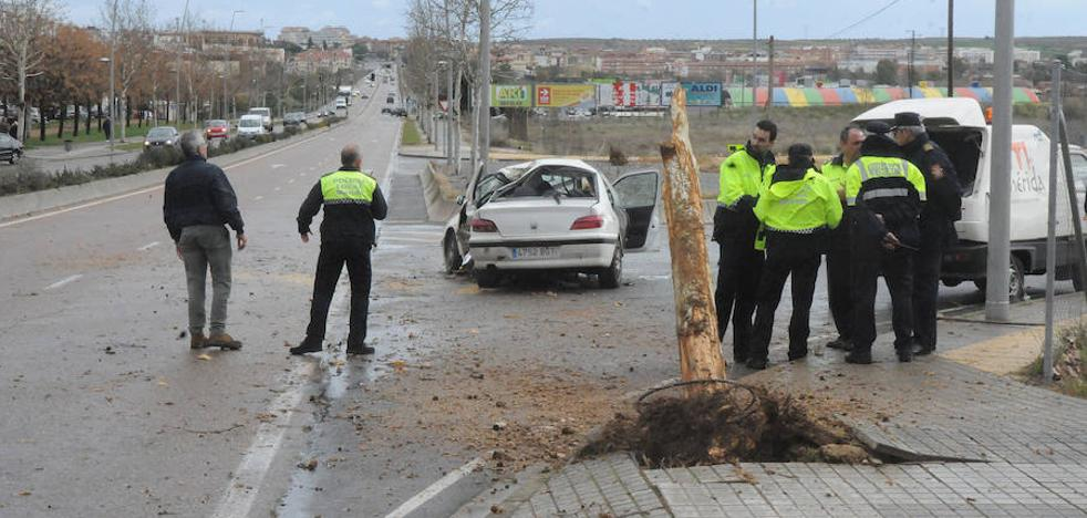 Muere un joven de 20 años al perder el control de su coche y chocar contra un árbol