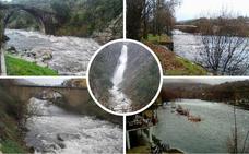 Garganta la Olla, la localidad más lluviosa de España este jueves con 92 litros por metro cuadrado