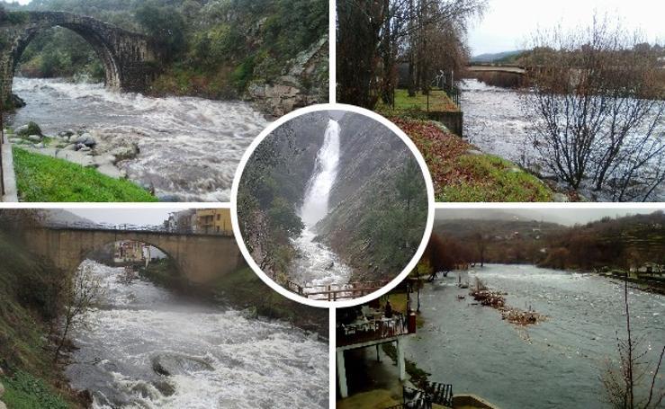 Crecida de los ríos y gargantas del norte de Cáceres