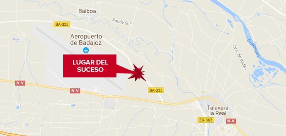 Herida grave una mujer de 56 años en un accidente de tráfico en Talavera la Real