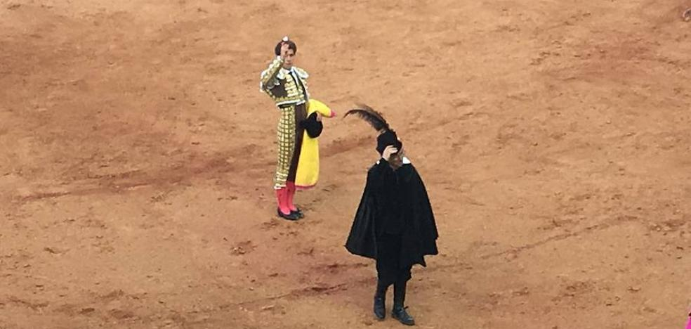 Mano a mano protagonizado por Antonio Ferrera y Ginés Marín en la última corrida de toros de Olivenza