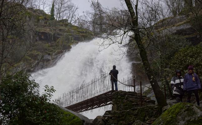 Espectaculares cascadas jerteñas