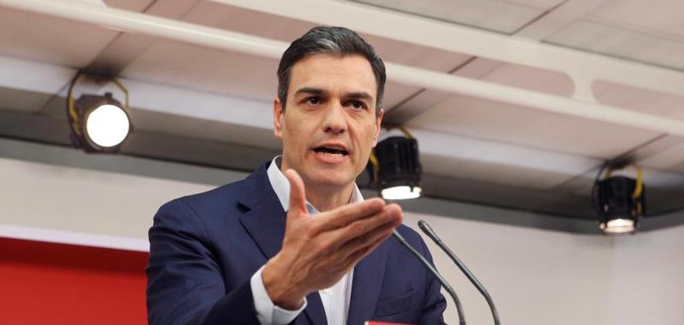 Sánchez quiere que Rajoy se someta a una cuestión de confianza si no saca los Presupuestos