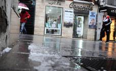Las tormentas de granizo marcan la jornada meteorológica en Extremadura