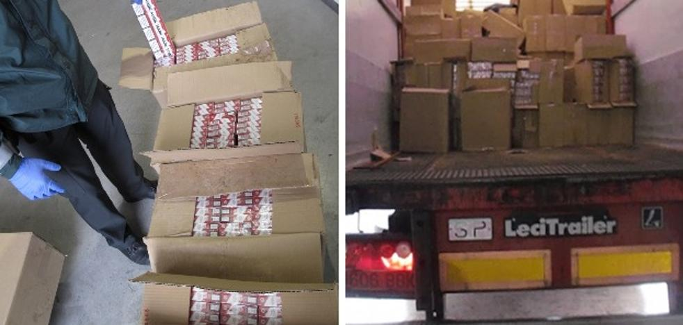 Detenido en Badajoz con 356.000 cajetillas de tabaco de contrabando