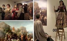 Un cuadro del Prado en el MUBA inspira una obra de teatro sobre El Quijote