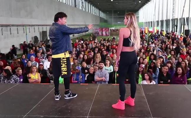 Águeda López, mujer de Luis Fonsi, una maestra de Zumba