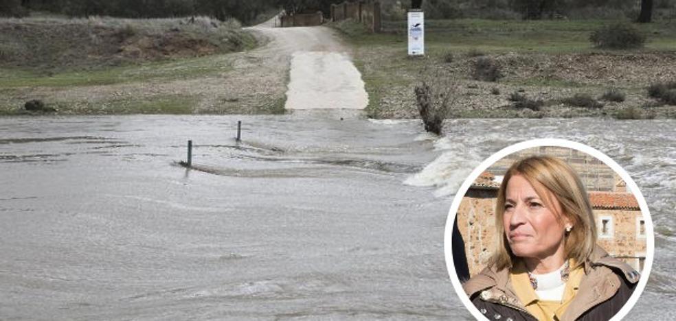 La alcaldesa de Cáceres se ofrece a intermediar en el conflicto del paraje Cuartos del Baño