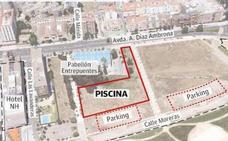 La piscina de la margen derecha de Badajoz estará terminada en un año y medio