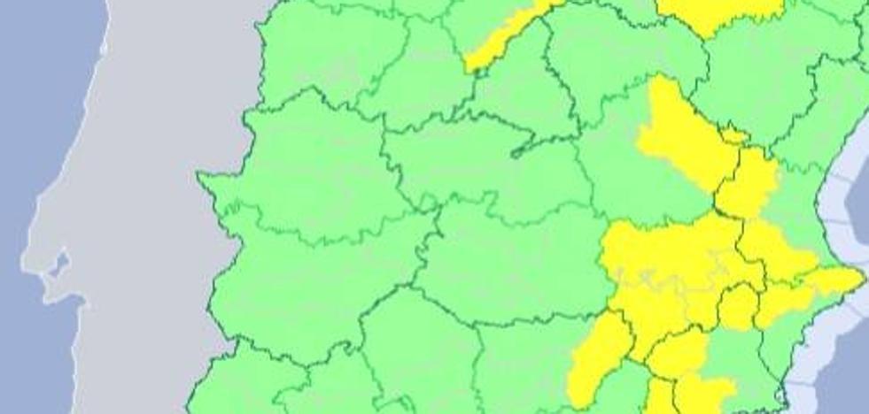 Desactivada la alerta amarilla en Extremadura