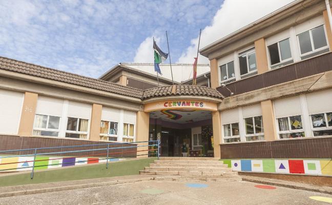 Licitadas las obras de reforma del colegio Cervantes de Cáceres