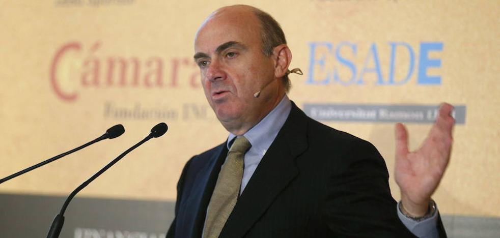 El BCE da su plácet al nombramiento de De Guindos como vicepresidente