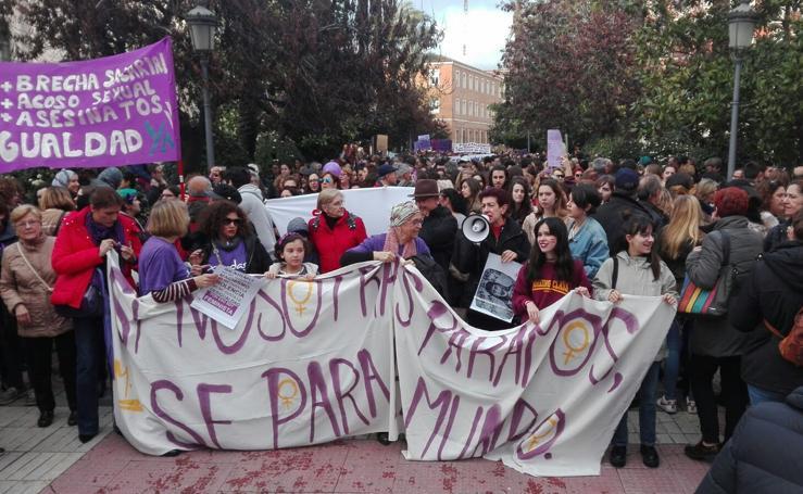 Manifestaciones del 8M en Extremadura