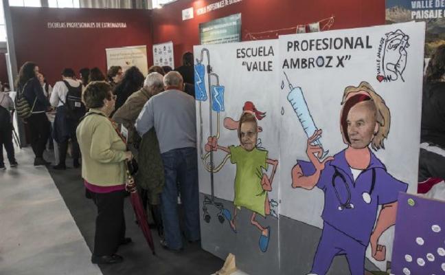 Arranca en Badajoz la Feria de los Mayores, que espera la llegada de 40.000 visitantes