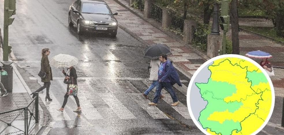 La borrasca Félix pone en alerta a la región por lluvia y viento este viernes y el sábado