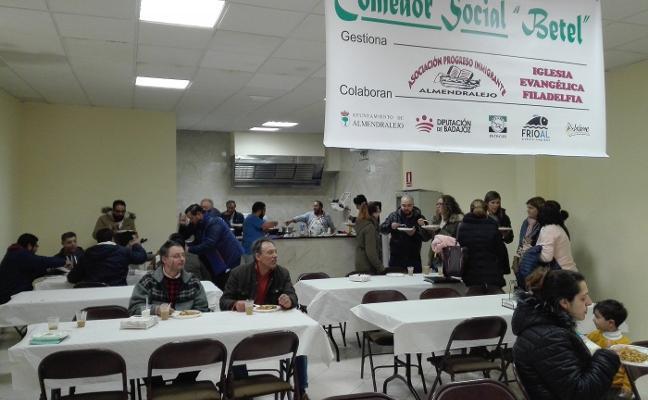 El colectivo Progreso Inmigrante inaugura un comedor social en Almendralejo