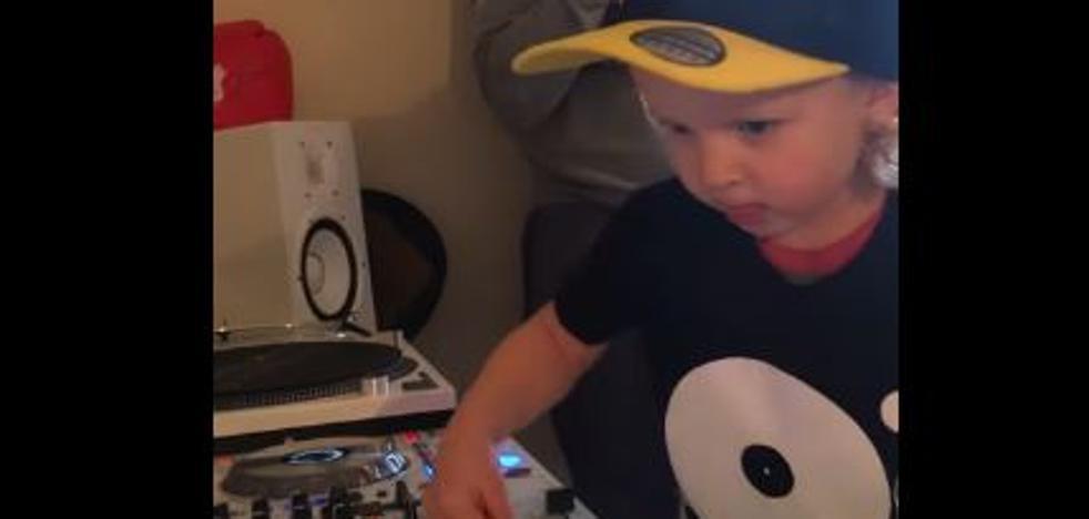 El niño DJ