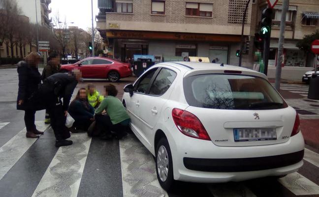 Una mujer de 80 años es atropellada en la avenida de Colón de Badajoz