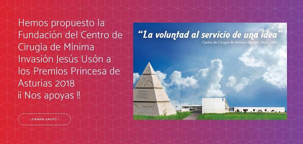 El centro de cirugía de Mínima Invasión opta al Premio Princesa de Asturias