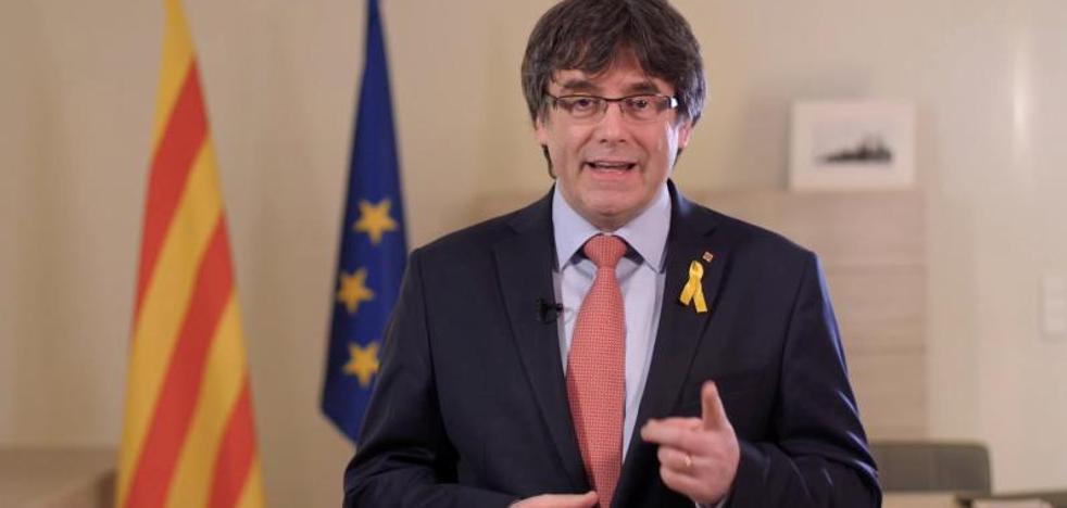 Puigdemont dice que el juez Llarena prevaricará si no permite la investidura de Jordi Sànchez