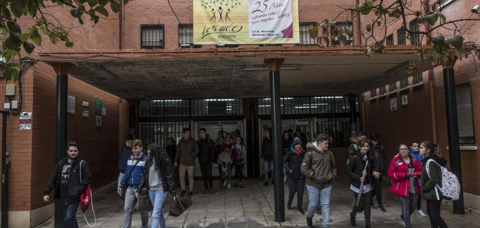 El instituto Maestro Domingo Cáceres tendrá un aula más de primero de ESO